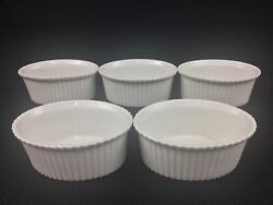 M And Z Austria Classics 3 5/8 By 2 1/2 Oval Individual Souffle Dishes Ramekins