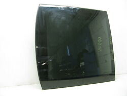 06-12 Mercedes W251 R500 R350 Rear Panoramic Pano Sunroof Sun Roof Glass Oem 033