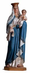 Our Lady Of The Blessed Virgin Mother Mary Eucharist Sacrament 43 Inch Statue