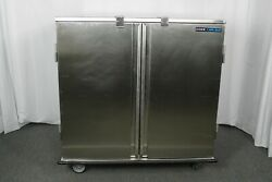 Used Carlisle Dinex Dxict282d Economy Tray Delivery Cart W/ Wrap Around Bumper