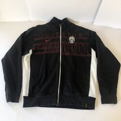 Nike Juventus Fc Team Spell Out Track Warm Up Jacket Cristiano Ronaldo Mens Xl