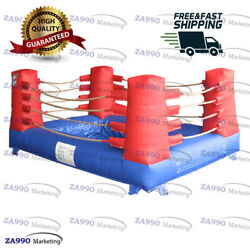 10x16ft Inflatable Bouncy Mud Boxing Ring Arena Sport Game With Air Blower