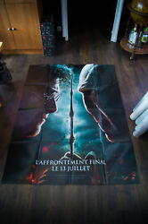 Harry Potter Deathly Hallow 2 C 4x6 Ft French Grande Poster Original 2011