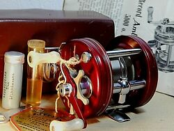 53's Record Ambassadeur 50001st Model After S.g. Baitcasting Reel-used/xclnt++