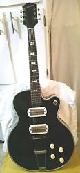 1956 Silvertone And039espanadaand039 Hollow Body Electric Guitar