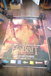 The Hobbit Unexpected Journey A 4x6 Ft Shelter D/s Movie Poster Original 2012