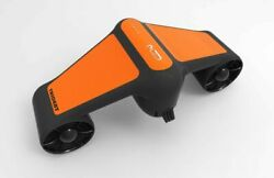 Geneinno 50m Underwater Scooter Swimming Booster Deep Diving Device Accelerator