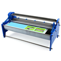 Gluing Machine 21andrdquo F/ Wall Paper Wallpaper Poster Glue Paste Brush Roller Coater