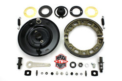 45 Front Brake Backing Plate Kit For W 1941-1952 Harley Davidson Motorcycles