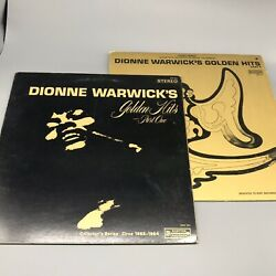 Dionne Warwick Vinyl Golden Hits Part One And Two Two Albums 1960s