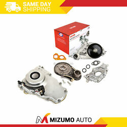 Timing Chain Kit Cover Water Pump Oil Pump Fit 07-13 Buick Gm Ls 5.3 6.0 6.2