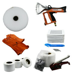 Shrink Wrap Boat Kit - Heat Gun, Tools And Accessories - Includes Ripack 3000