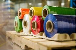30 X 5000and039 Machine Stretch Film 80 Ga. Choose Color - 20 Rolls/pallet