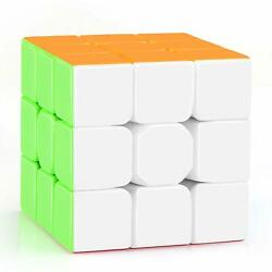 Warrior 3x3 Stickerless Speed Cube Puzzle With Uk Free Shipping