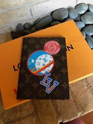 Louis Vuitton Clemence Varsity Notebook New with box