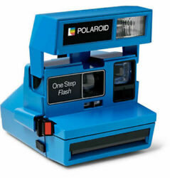 💖 Polaroid Impossible Project Onestep 600 Instant Camera Limited Blue 💖