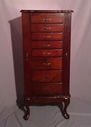 1988 Powell Jewelry Armoire - Overpacked Cabinet