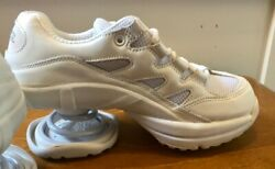 Z-Coil FREEDOM CLASSIC WHITE Coil Womens 6 Athletic Shoes White leather mesh