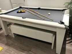 New High Gloss Supreme Classic 6and039 And 7and039 Dining Pool Table From Superpool