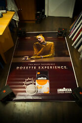 Lavazza D By Recuenco 2007 4x6 Ft Shelter Original Vintage Advertising Poster