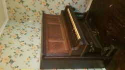 Kimball Chicago Piano In Oak Cabinet