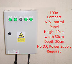 100a Ats Automatic Transfer Switch Compact Single Phase 100 Amp+gen 2 Wire Start
