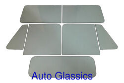 1948-1953 Willys Pickup Truck Classic Auto Glass Kit New Windows Polished Edges