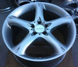 Lorinser Rs 1pc 19 X 9 Et 38 5112 Silver One Wheel Only Made In Germany