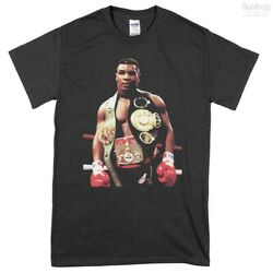 Mike Tyson Iron Mike Champion Boxing T-Shirt - Black Unisex Classic Tee SunFrog