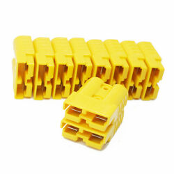 10pcs Battery Quick Connect Disconnect Plug Yellow 50a 8awg Winch Rv W/ Pin