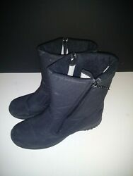 Totes Boots Women#x27;s Size 10 Black $15.99