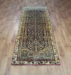 Old Wool Hand Made Oriental Floral Runner Area Rug Carpet 296 X 92 Cm