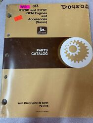 John Deere 3179d And 3179t Oem Engines And Accessories Parts Catalog 393