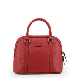 Gucci Microguccissima Red Leather GG Dome Handbag Shoulder Bag Luxury Design
