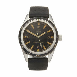 OMEGA SEAMASTER 300 RADIUM DIAL STAINLESS STEEL WATCH CAL. 552 38MM W5889