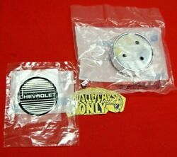 86 87 88 Monte Carlo Ss Nos Gm 15 Inch Aluminum Wheel Center Chrome Cap And Emblem