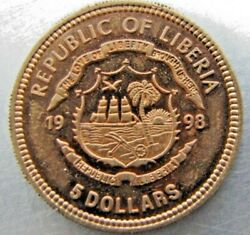 Liberia 5. 1998 - Unlisted Pattern Likely Extremely Rare.