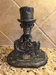 Disney's Haunted Mansion 45th Anniversary Ezra Bust Javier Soto Le 9/45 Signed