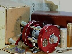And03952 Vintage Record Ambassadeur 5000 Mod.sg Baitcasting Reel In Box+case+xclnt++
