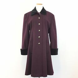 Vtg Gorgeous International Scene Winter Coat Made In Russia Womenand039s Size 11/12