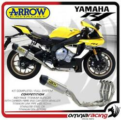 Arrow Full Exhaust System Competition Full Titanium For Yamaha Yzf R1/ R1m 2015/
