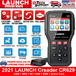 Launch X431 Cr6011 Creader Obd2 Car Engine Abs Srs Airbag Diagnostic Tool Reader