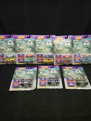 Johnny Lightning Indianapolis 500 Collection Series One 8 Cards Of Two Cars 1996