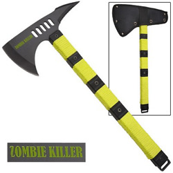 Zombie Killer Tactical Throwing Axe With Sheath