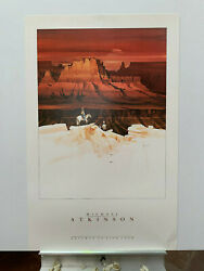 25x39 Michael Atkinson Gateway To Zion Never Framed - Bright Colors