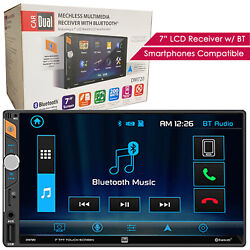 Dual Dm720 7 Lcd Digital Media Receiver W/ Bluetooth / Voice Activation Button