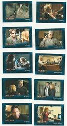 The X Files Seasons 10 And 11 Blue Parallel Complete 96 Card Set /99 Rare