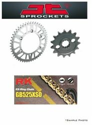 Triumph 675 Street Triple 08-15 Jt/rk 525xso X-ring Gold Chain And Sprocket Kit