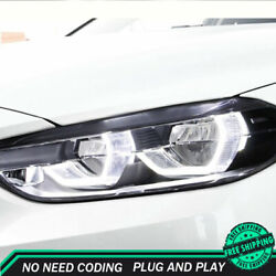 For Bmw 1 Series F52 Headlight Assemblies 16-20 Hid Xenon Beam Projector Led Drl