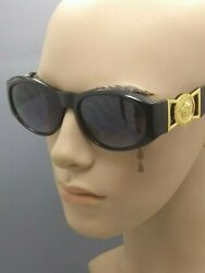 Vintage Bold Retro Oval Tiger Medallion Luxury Rapper Hip Hop BIGGIE Sunglasses $11.95